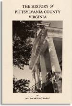 History of Pittsylvania County, Virginia